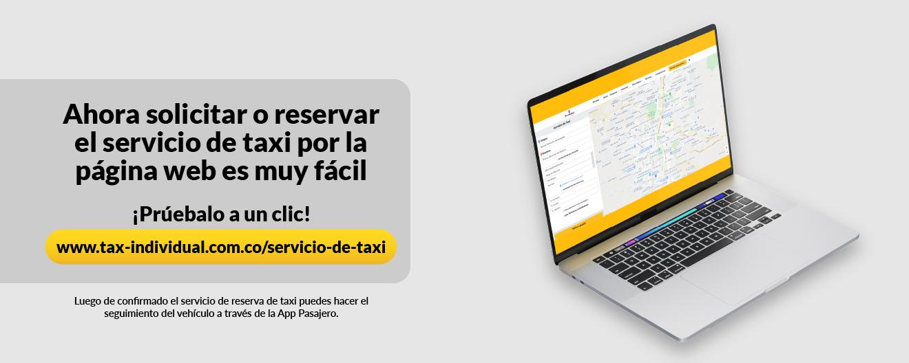 Taxi página web