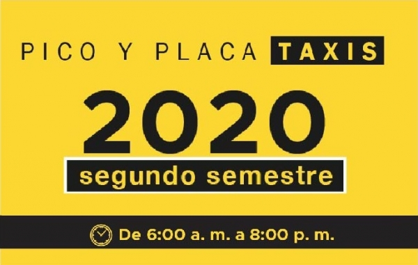 pico y placa 2020